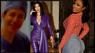 Cardi Give Megan Thee Stallion Good Advice About Her Odor Megan Check Doctor..DA PRODUCT DVD