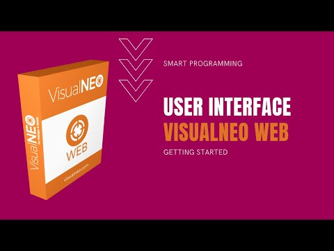 VisualNEO Web. The Interface