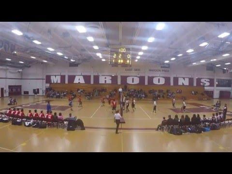 Elgin Maroons Boys Volleyball at Home vs Larkin Royals