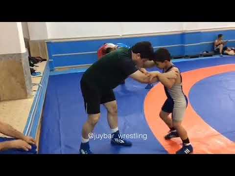Freestyle Wrestling Training in Iran
