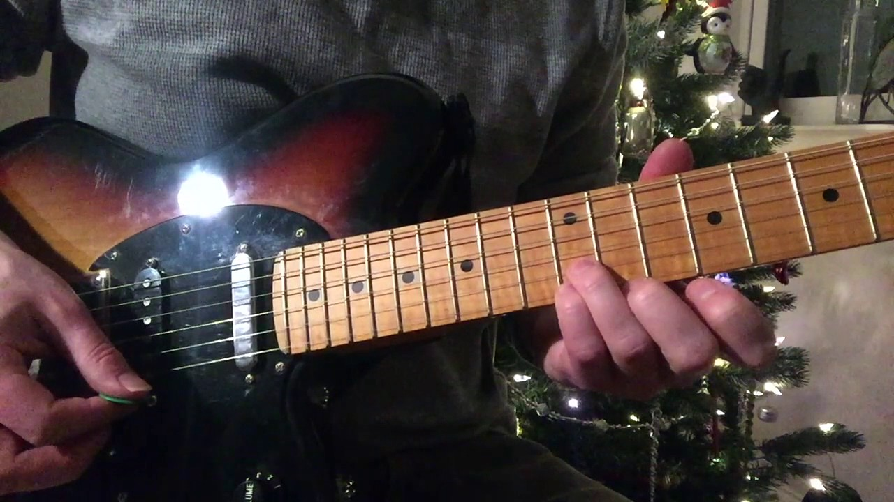 jingle bell rock intro bobby helms original version guitar lesson weekend wankshop 108