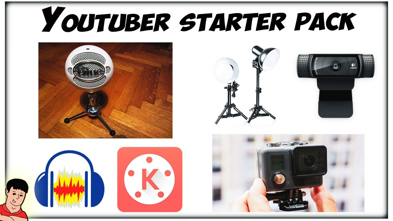 The Ultimate Youtube Starter Pack Youtube
