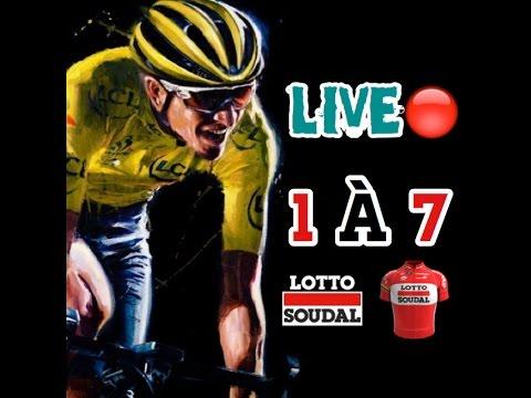 🔵Rediff Live Tour de France 2016 - Lotto Soudal Étapes 1 à 7