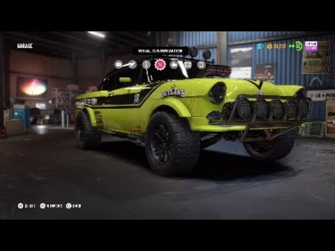 Nfs Payback Chevrolet Bel Air Offroad Build Youtube