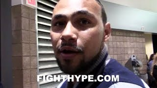 KEITH THURMAN TELLS SHAWN PORTER HE NEEDS SOME MEDITATION; GLAD HE TALKED INSTEAD OF FATHER