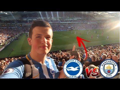 PREMIER LEAGUE DEBUT   Brighton VS Manchester City   Match Day Vlog   12/08/17   #BHAFC