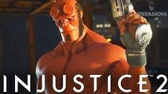 """The Best Looking Hellboy! - Injustice 2 """"Hellboy"""" Gameplay (Online Ranked)"""