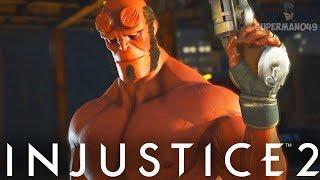 The Best Looking Hellboy Injustice 2 Hellboy Gameplay Online Ranked