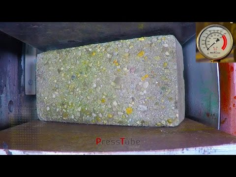 Thumbnail: Hydraulic Press | Construction Brick