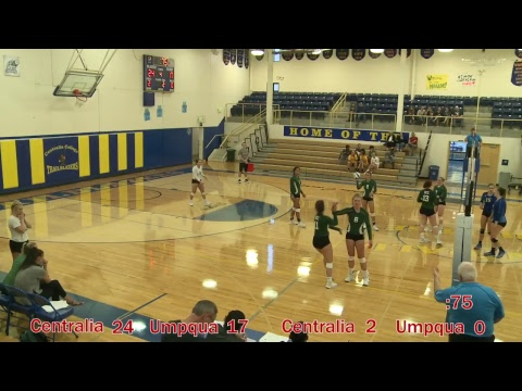 Centralia College Women's Volleyball  9-7-2018