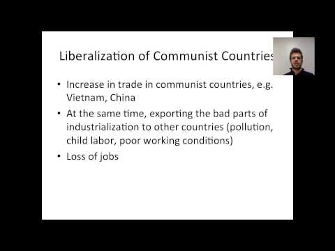 Economic Globalization in the United States
