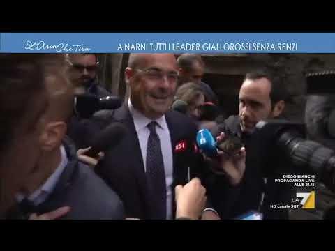 """Nicola Zingaretti in Umbria rischia di inciampare sui sanpietrini: """"Chi non vuole far vincere ..."""