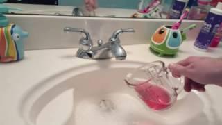 Sulfuric Acid Clear Clogged Sink