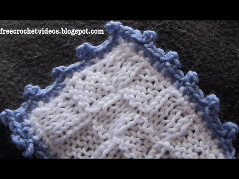 Crochet Picot Edging Youtube