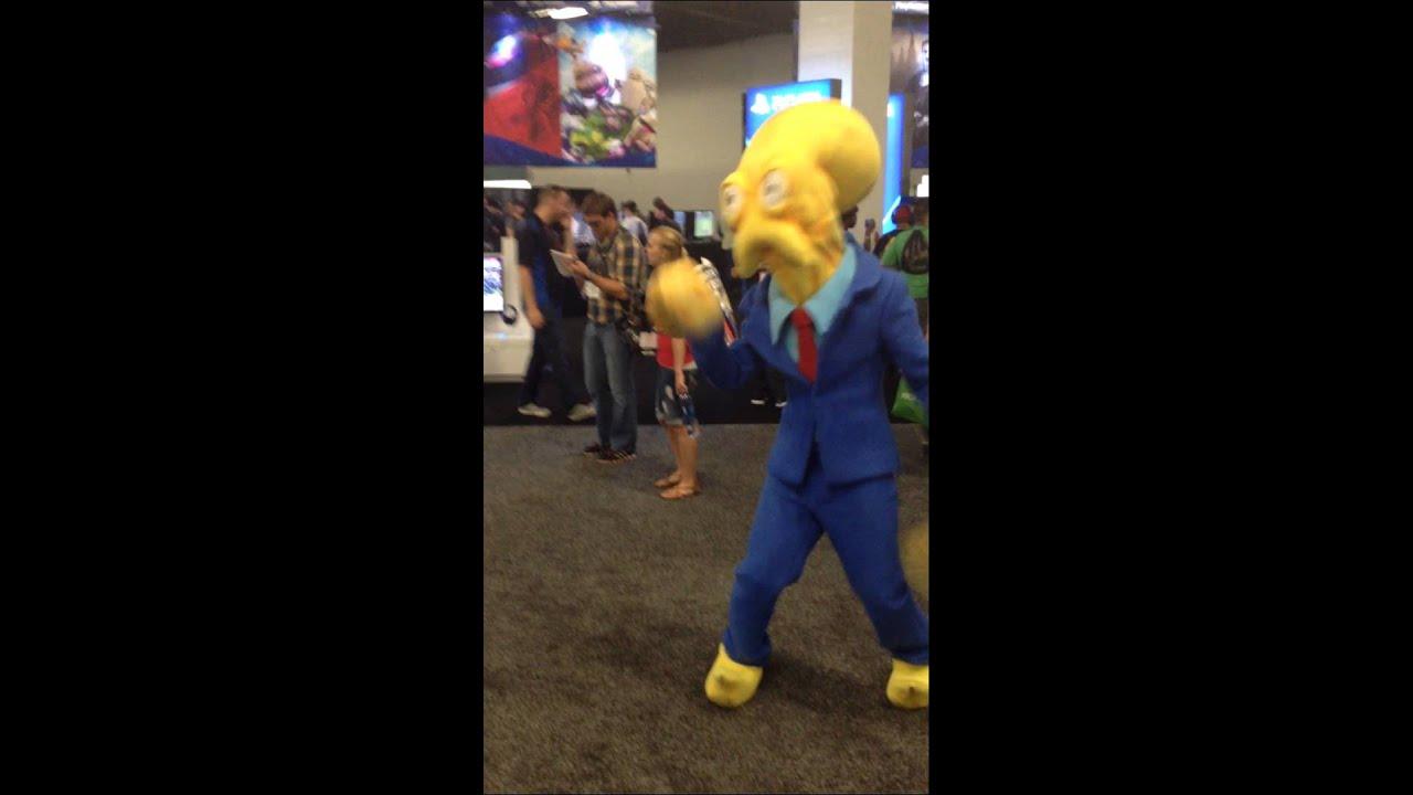 Gamestop Expo 2014 Octodad Cosplay Youtube