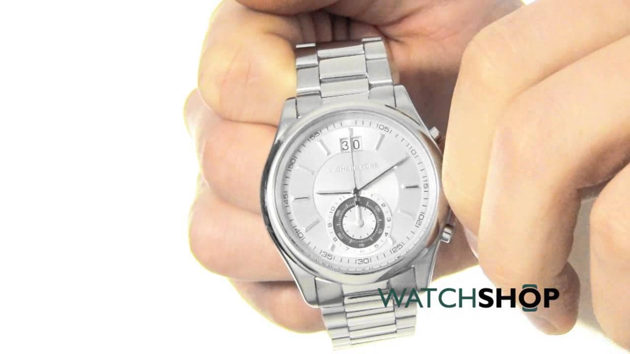 3307d3690d43 Michael Kors Men s Aiden Chronograph Watch (MK8417) - YouTube