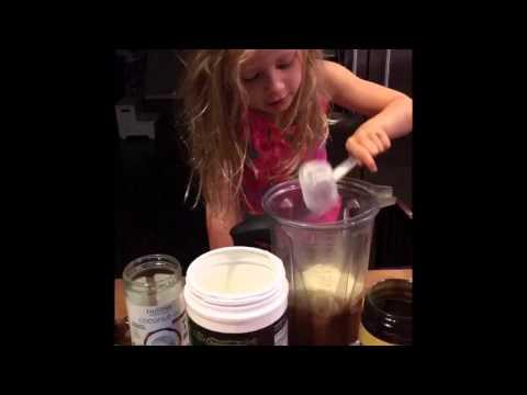 Superfood shake for kids