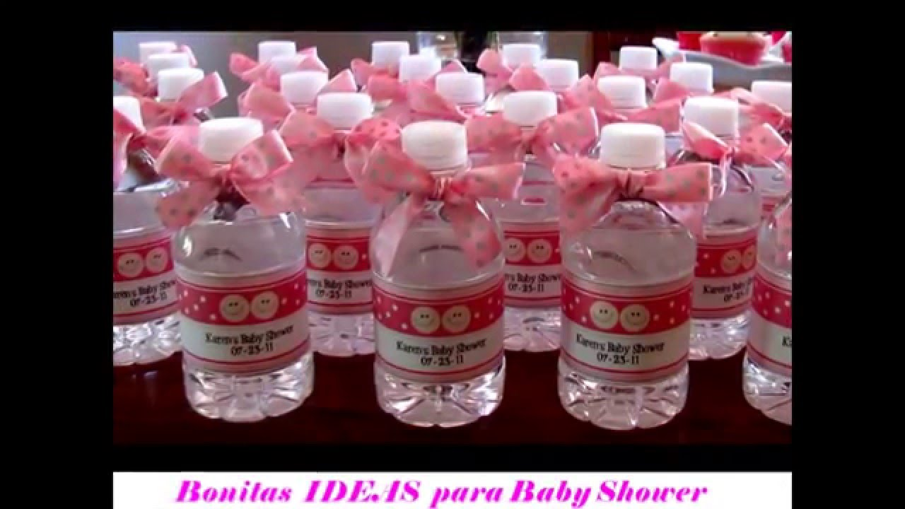 Ideas Para Baby Shower Part - 29: Bonitas Ideas Para Baby Shower - YouTube
