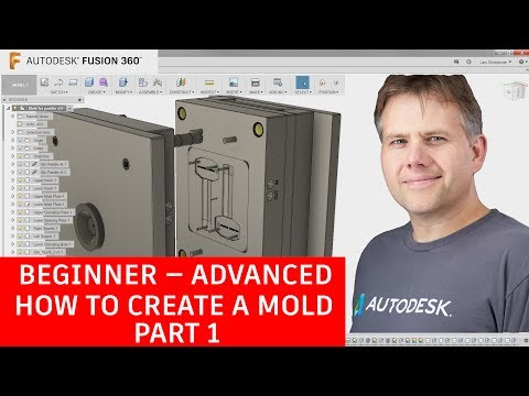 Fusion 360 Tutorial — Beginner To Advanced — How To Create a Mold— Part 1