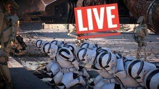 Star Wars Battlefront 2 Galactic Assault [ PS4 ] live gameplay