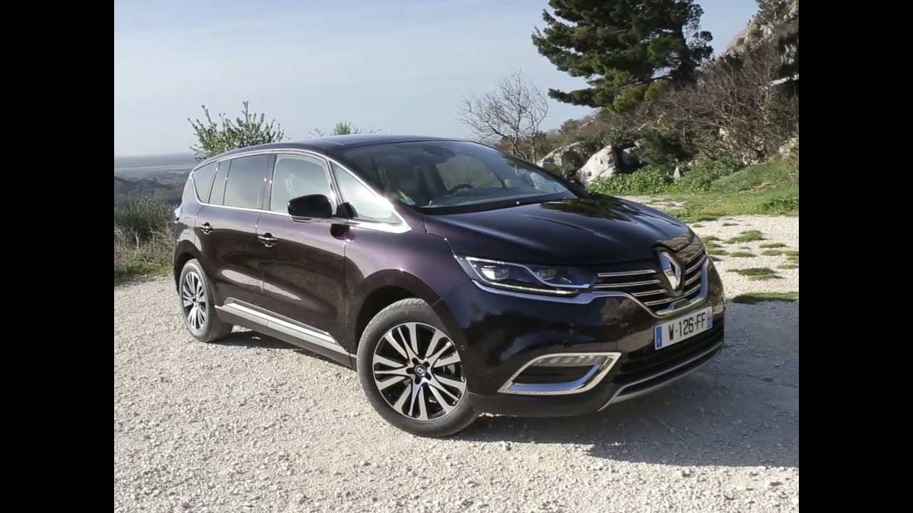 renault espace 2016 2017 2018 best cars reviews. Black Bedroom Furniture Sets. Home Design Ideas