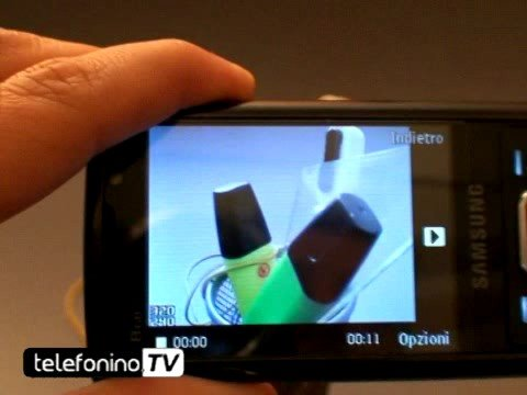 Samsung Innov8 i8510 videoreview da telefonino.net