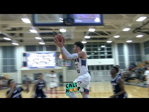 2020 Robby Beasley GOES OFF  in 1st half at Don Nelson Classic...Kid is COLD!!!
