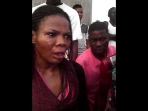 Woman caught with a boy for rituals 2