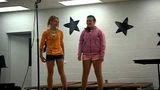 6th Grade talent show fail.