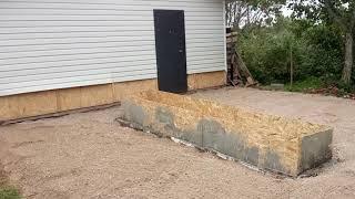 Стройка гаража и новости мастерской.