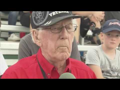 Ft  Bragg game is dream come true for 97 year old vet