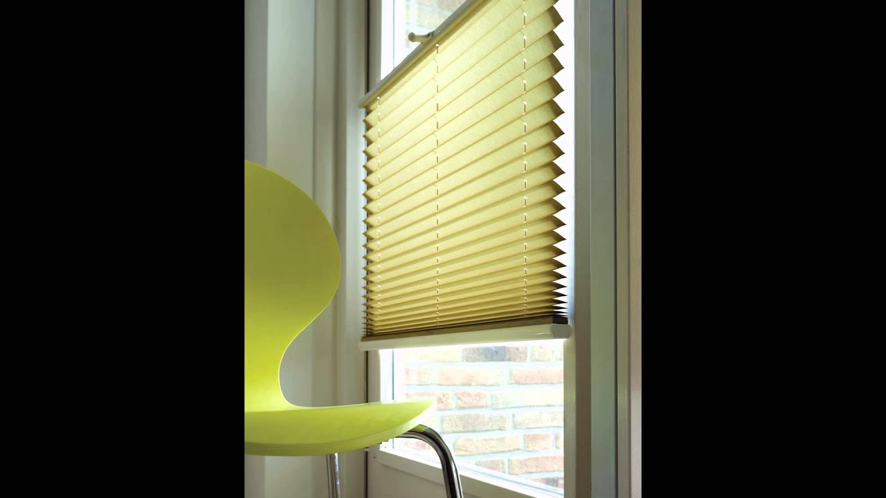 Pleated shades youtube for Pleated shades ikea
