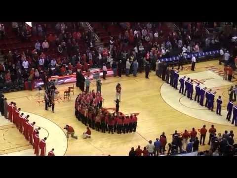 Montgomery Intermediate School Elite Choir - Rockets National Anthem 19NOV14