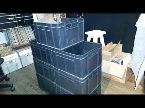 Caja Plástica Para Vinilos Ideal Vendedores o coleccionistas