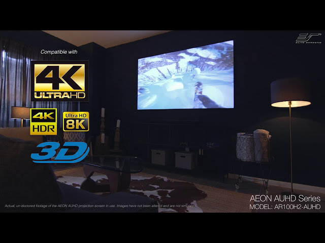 Elite Screens AEON AUHD Series Projection Screen