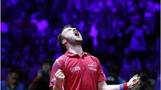 Tennis de table. Championnats du monde: exploit de Simon Gauzy face à Xu Xin, numéro 2 mondial
