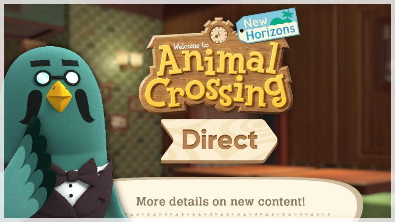 Animal Crossing New Horizons DIRECT & THE ROOST CONFIRMED (October Update Coming)