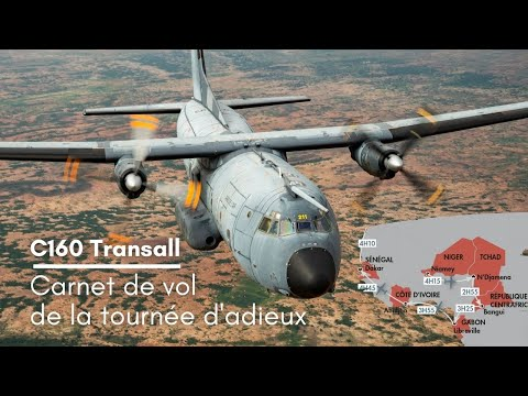 Le Transall entre dans l'histoire des opérations en Afrique !