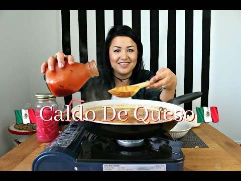 CHEESE SOUP MUKBANG  🧀 CALDO DE QUESO + BEAN TACO - MEXICAN FOOD