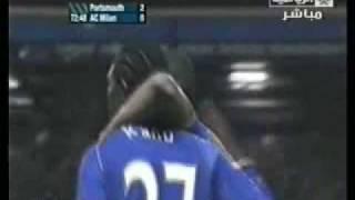 Portsmouth Vs Milan :  Goal Kanu 2-0