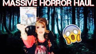 MASSIVE HORROR HAUL BLU-RAY DVD ELVIRA HORROR SHIRTS & MORE