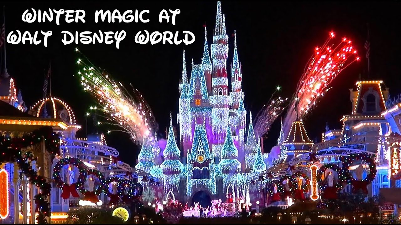 Christmas Events.Christmas Events At Walt Disney World Orlando Tour America