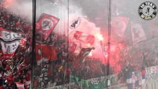 Ultras World Olympiakos vs Green Rabits 26 10 2014