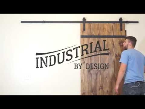 Step-By-Step Barn Door Hardware Installation - Industrial By Design
