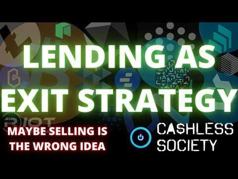 *** LENDING CRYPTO ON LEGIT PLATFORMS COULD BE ULTIMATE EXIT STRATEGY *** ... and other news