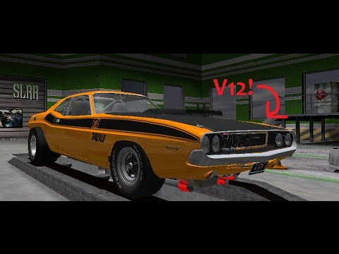 Dodge Challenger V12 >> V12 1970 Dodge Challenger Part 2 Street Legal Racing Redline