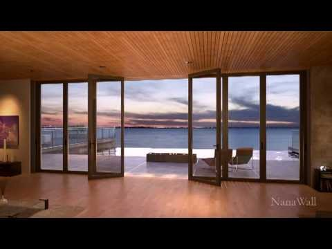 Sliding glass door installation by nanawall youtube for Nana sliding glass doors