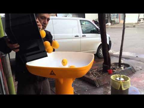 Elma Üzüm Limon Nar Sıkma Makinası - Balonlu Pres