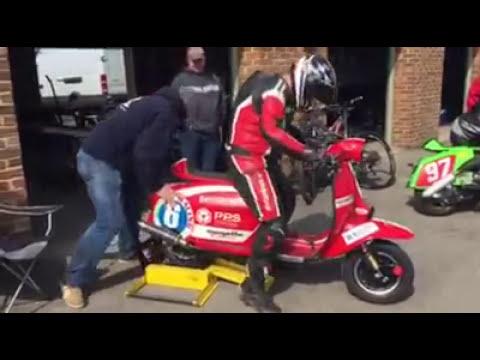 BSSO Race scooters roar into life!