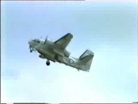 S2E/G Trackers final flight/display NAS Nowra 1984